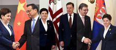 Premier Szydlo w Rydze: Współpraca regionalna z Łotwą i Serbią oraz zacieśnienie relacji gospodarczych z Chinami. Premier Szydło rozmawiała w Rydze z premierami innych państw..__