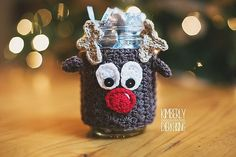 Ravelry: Mason Jar Christmas Cozies pattern by Sincerely Pam