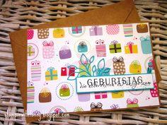 Schnelle Geburtstagskarte mit vielen Geschenken