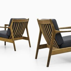 Folke Ohlsson USA-75 easy chairs by Dux at Studio Schalling