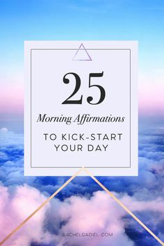 As you know I am a huge fan of affirmations and use them as part of my  daily morning routine - not only do they help make major shifts in your  mindset they also serve as prompts and daily reminders on what you are  truly capable of, making sure you have an amazing day, everyday.  What is an affirmation exactly?  An affirmation is a simple but powerful statement that helps to strengthen  the connection between your unconscious mind and your conscious mind.  The more you strengthen this…