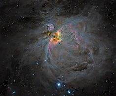 M42 Orion Nebula - DSLR colour and CCD luminosity. | Flickr - Photo Sharing!