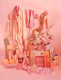Beautiful Colour blocking by Sara Cwynar