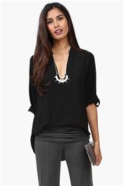 Gilly Blouse in Black