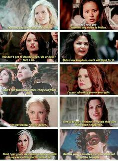 Girl Power ♀ I love all the strong, independent women in this show!