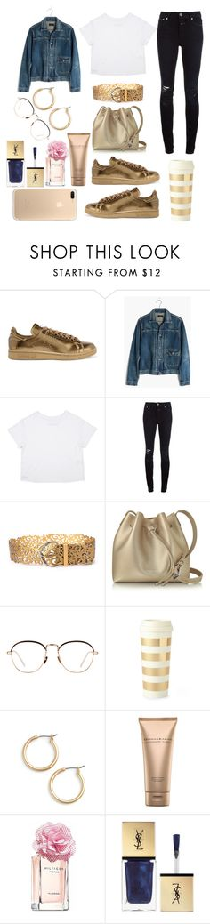 """And why not?!!"" by pulseofthematter ❤ liked on Polyvore featuring adidas Originals, Madewell, Closed, Lancaster, Linda Farrow, Kate Spade, Nordstrom, Donna Karan, Tommy Hilfiger and Yves Saint Laurent"