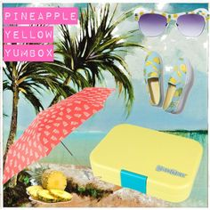 Pineapple Yellow Yumbox. Spring 2015 Pastels Collection