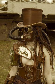 TrollSmas steampunk costume #steampunk