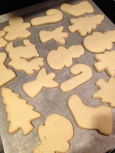 Dairy free sugar cookies