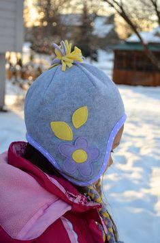 e38422173ed ikat bag  Winter Hats Part Two  how to make a fleece winter hat.