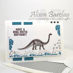 Gothdove Designs - Alison Barclay Stampin' Up! ® Australia : Stampin' Up! Australia - Stampin' Up! No Bones About It