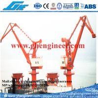 Material Handling Mobile Portal Grab Crane 30T 50T