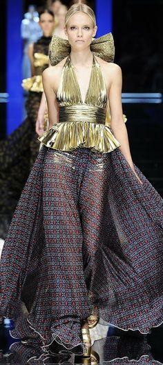 Natasha Poly ~ Dolce and Gabbana