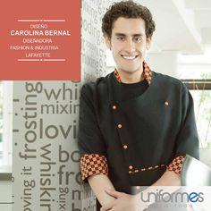 Diseños exclusivos para ti #UniformesparaTodo #Lafayette  #Colombia #Chef #Restaurante www.uniformesparatodo.com