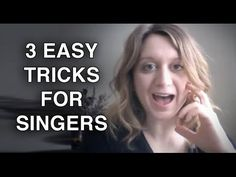 3 Easy Tricks to Improve Your Singing Now - Felicia Ricci