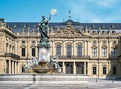 The Residenz in Würzburg