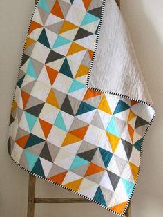 Aqua and Orange Color Palette - Home Color Ideas - Good Housekeeping