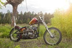 """Cupper Cliff Custom"" 1970 Harley-Davidson Shovelhead."