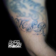 Tatuaje de letering.