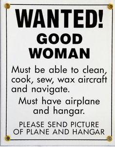 Wanted good woman