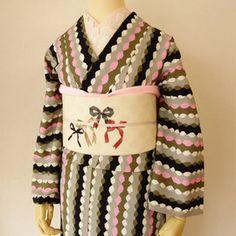 豆千代モダン - そろばん着物 リボン名古屋帯 Yukata, Kimono, Sweaters, Fashion, Moda, La Mode, Pullover, Kimonos, Sweater