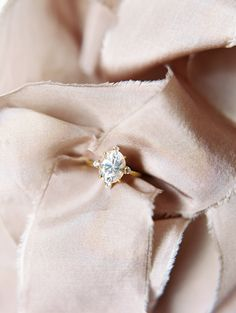 Oval cut engagement ring: http://www.stylemepretty.com/texas-weddings/dallas/2017/01/18/wedding-inspiration/ Photography: Charla Storey - http://www.charlastorey.com/
