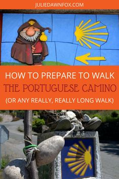 Since walking the Portuguese Camino de Santiago, several people have asked how I trained for walking over 200 kilometres of the Central Camino in ten days. Click through to find out what preparation I did for walking the Portuguese Way of Saint James and what I would do differently next time. | Julie Dawn Fox in Portugal #portugal #theway #portuguesecamino #camino #walking #travelplanning