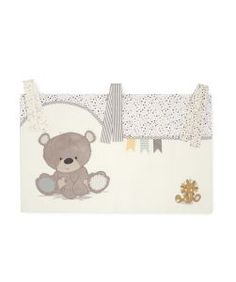 Luxury Teddy us Toy Box Cot Pockets