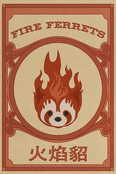 Legend of Kora: Fire Ferrets Poster