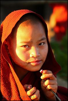 Novice Monk in S. Kunhot
