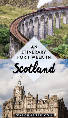 Wondering how to spend only one week traveling in Scotland? In this itinerary guide, find out all the best things to do and places to see! #scotland #itinerary