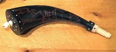 Contemporary Makers: Powder Horn by Scott and Cathy Sibley