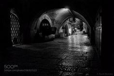 Jerusalem. Night Alley by David_Brodsky
