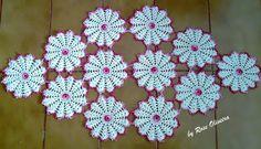Tejiendo Artes de ganchillo: Flores de Mesa