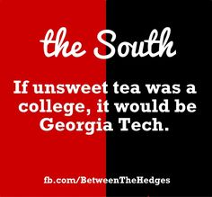 Aww, poor Tech...being in California has taught me to enjoy unsweet tea : )