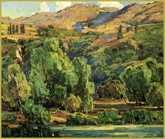 Creeping Shadws by William Wendt
