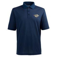 Antigua Men's Nashville Predators Piqué Xtra-Lite Polo Shirt