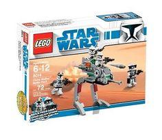 New LEGO Star Wars The Clone Wars Clone Walker Battle Pack Set 8014 :329