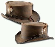 Head N Home Hats Handmade Brown Leather Voodoo Brand Marlow Hat Made in the  USA  HeadnHomeVoodooBrandHats  Dress 7464aa7b7283