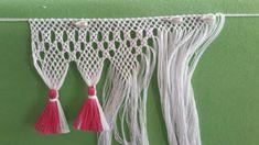 Tassel Necklace, Tassels, Crochet, Yarn Crafts, Ideas, Macrame Art, Tejidos, Needlepoint, Bangs