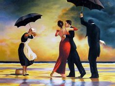 vettriano the singing butler print - Google Search