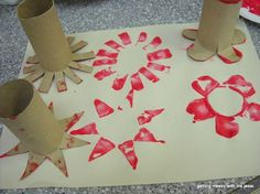 Toilet paper rolls are those items that we use every day. Instead of just throwing those empty toilet paper tubes out, we can repurpose them as creative crafts for kids or home decoration. Here are Homemade Toilet Paper Roll Crafts for your inspiration. Preschool Crafts, Crafts For Kids, Arts And Crafts, Two Year Old Crafts, Children Crafts, Toilet Paper Roll Crafts, Paper Crafts, Paper Paper, Classe D'art