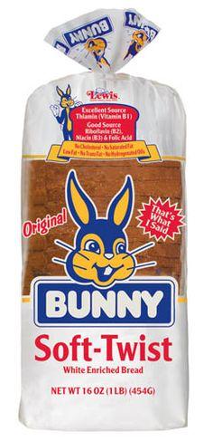 Bunny 16oz Soft Twist Enriched White Bread