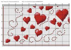Tiny Cross Stitch, Cross Stitch Heart, Cross Stitch Alphabet, Cross Stitch Flowers, Counted Cross Stitch Patterns, Cross Stitch Embroidery, C2c, Hand Embroidery Patterns, Crochet Patterns
