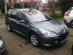 PEUGEOT 307 SW ESTATE HDI 1.6 2006 FULLY LOADED SAT NAV LOW MILEAGE