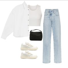 Cute Casual Outfits, Stylish Outfits, Diy Summer Clothes, Kpop Fashion Outfits, Mode Style, Aesthetic Clothes, Streetwear Fashion, Ideias Fashion, Ootd