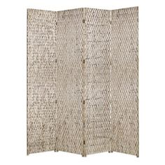 Screen Gems Sterling Room Divider - 4 Panel $2599.99 84W x 84H hayneedle