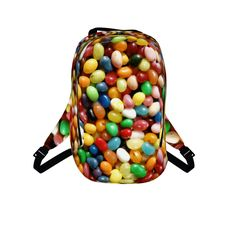 #jellybeans by #cheftreejenkins #alloverprint #citrusreport #sweets #candy #backpack #bookbag @The Citrus Report