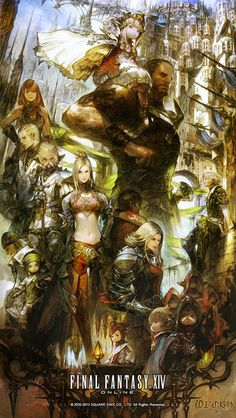 Ul'dah Promo from Final Fantasy XIV: A Realm Reborn