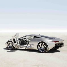 *Jaw Drop* The Jaguar C-X75 Concept